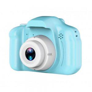 מצלמה דיגיטלית כחול אחיד