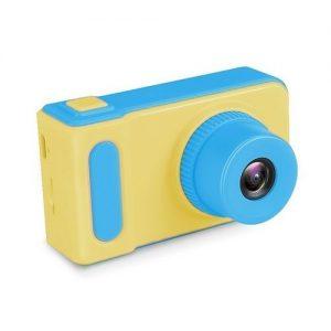 מצלמה דיגיטלית כחול צהוב